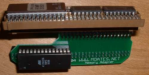 G1 adapter with chip and memcal attached